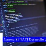 Carrera SENATI Desarrollo de Software