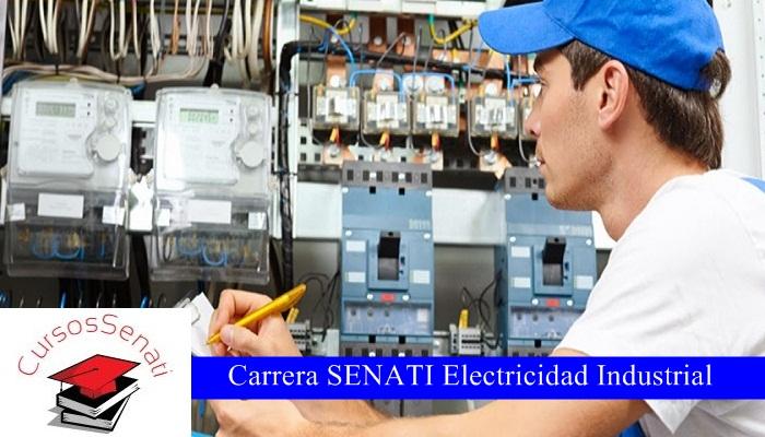 Carrera SENATI Electricidad Industrial