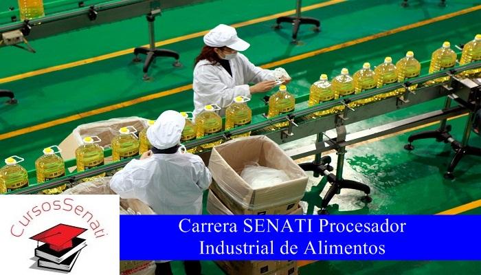 Carrera SENATI Procesador Industrial de Alimentos